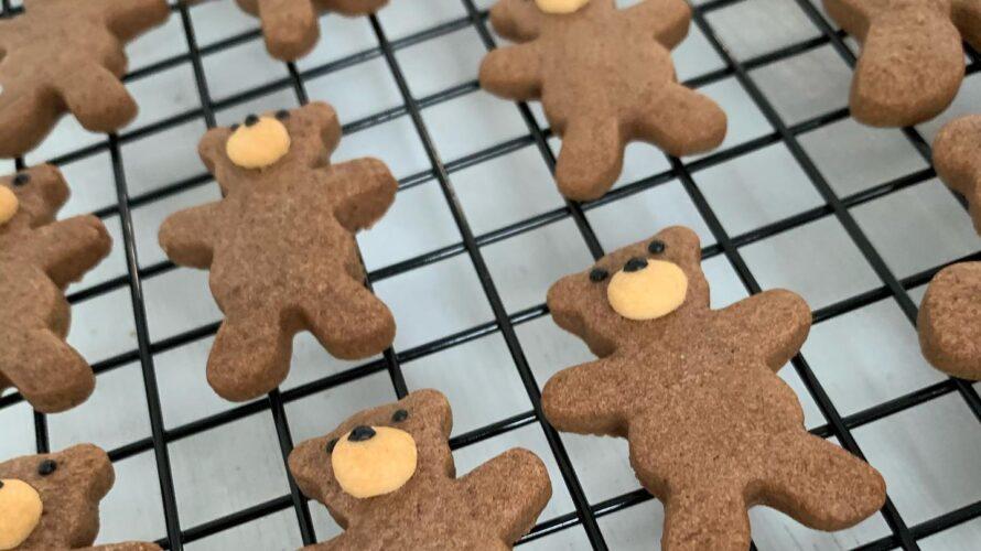 今日はクッキー焼いてます^ – ^